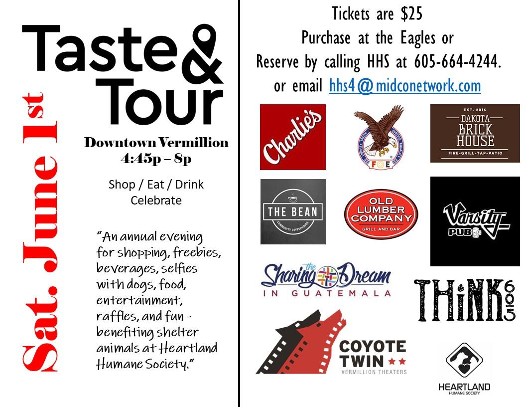 Taste And Tour Tickets Heartland Humane Society